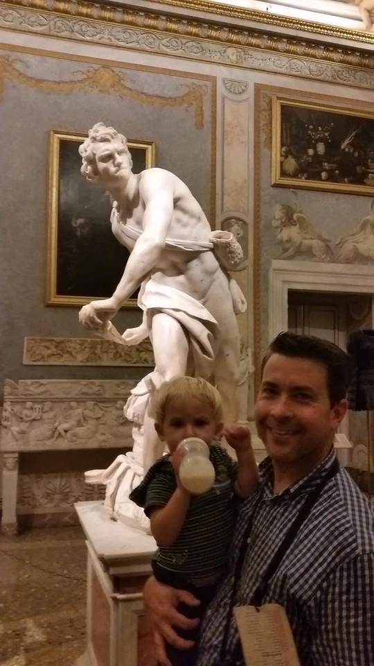 Bernini's awesome statue of David