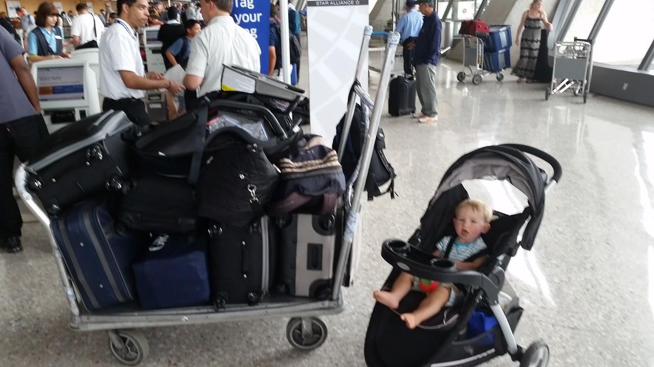 Dulles Airport!