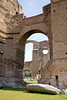 Roman bath ruins