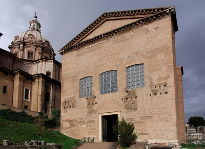 Roman Senate House & Church of Saints Luke and Martina