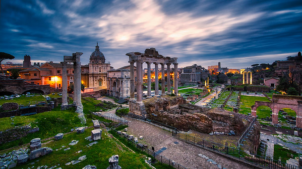 A Walk in Rome