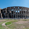 The Colosseum, (the Flavian Amphitheatre)