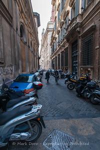 Roman streets, Rome, Italy
