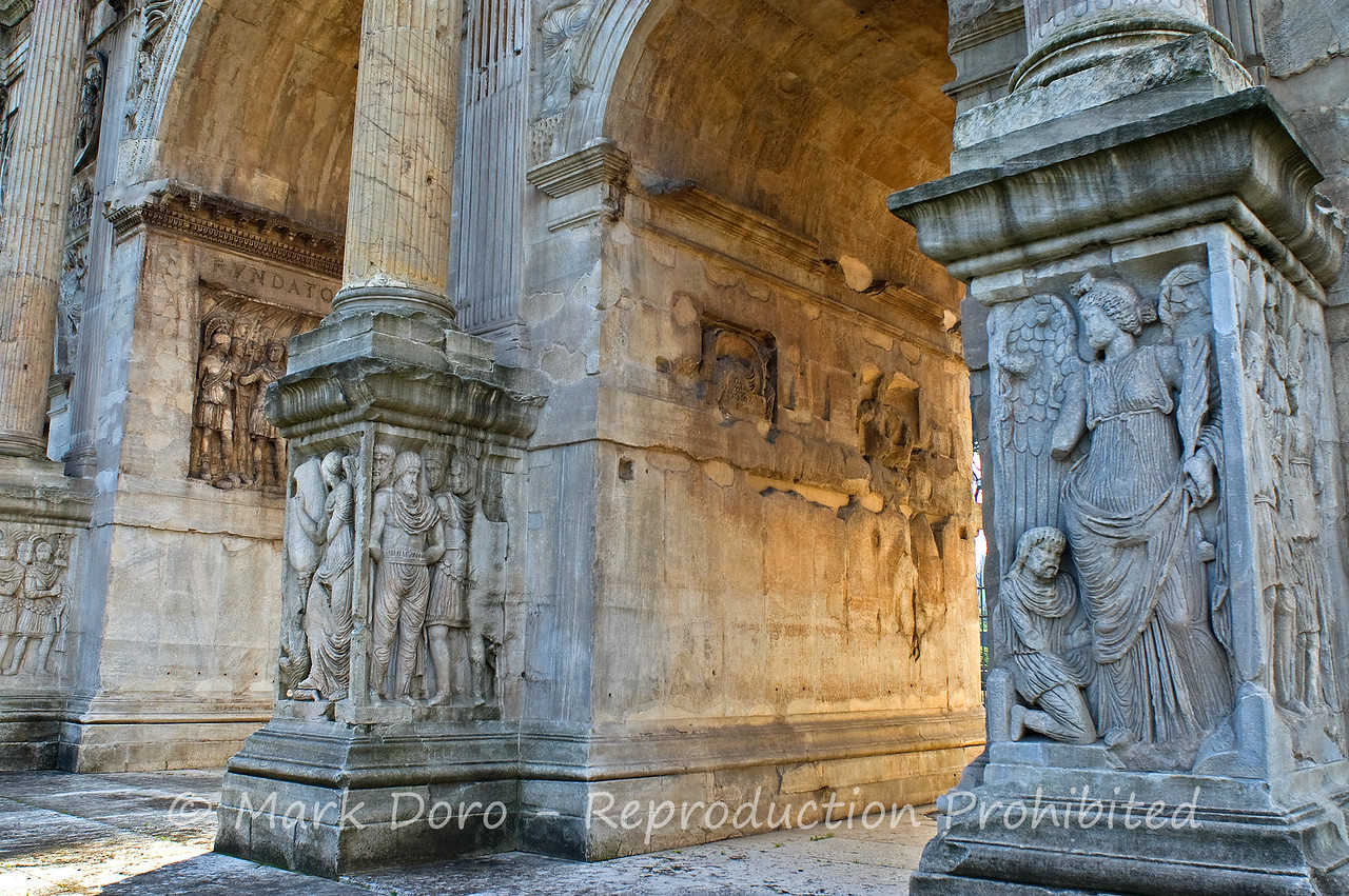 Arch of Constantine, Rome, Italy