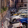 Parking is a problem in Rome...