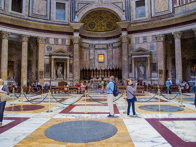 Pantheon Interior