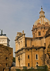 View from the Forum, Rome, Italy