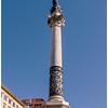 Trajan's Column in the Piazza Spagna.