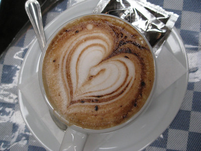 """Extra """"Sweet"""" Cappuccino."""