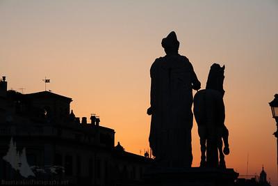 Sculptures at Capitoline Museum