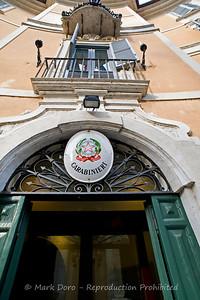 Carabinieri, Piazza Di San Ignazio, Rome, Italy