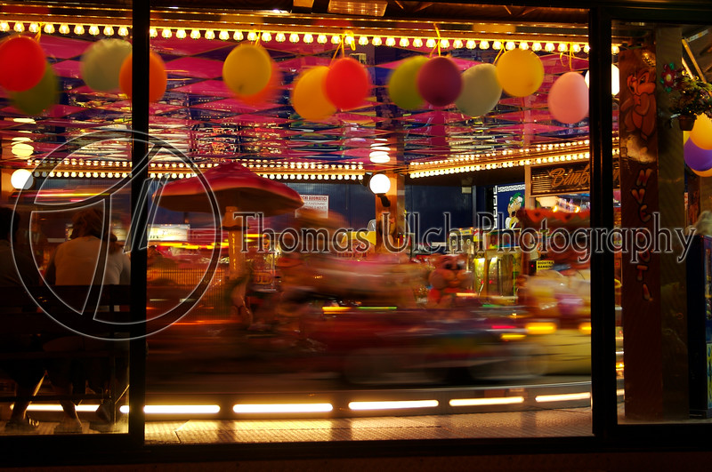 Carousel on the Aventine. Rome, Italy.