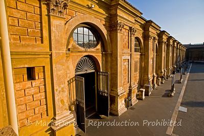Vatican Museum exterior, Vatican City, Rome, Italy