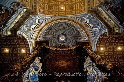 St Peter's Basilica, Vatican, Rome, Italy