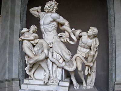 Laocoön and His Sons Vatican Museum