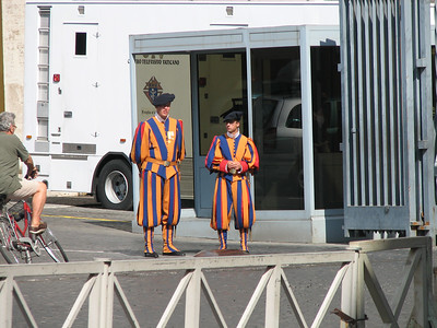 Vatican Guards... intimidating huh!