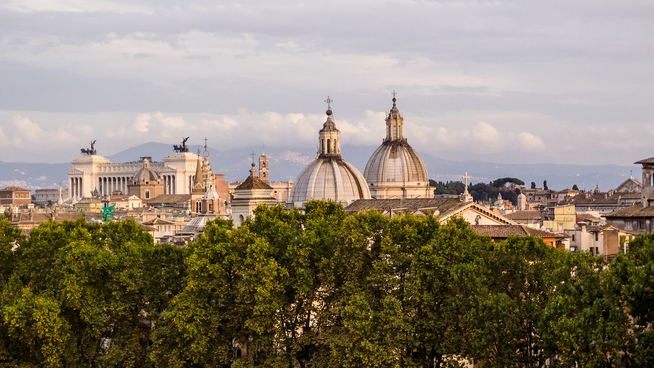 Roma from Castel Sant'Angelo