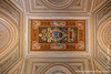 Ceiling With Papal Regalia