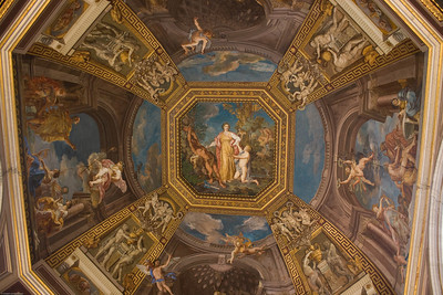 Artwork at the Vatican Museum
