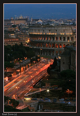 All roads lead to...  Rome