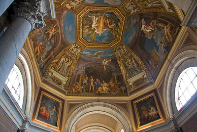 One of the Basilicas at the Vatican Museum