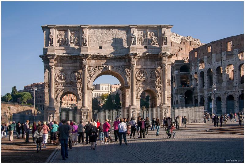 Constantine's Arch.