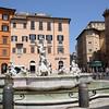 Fontana Del Neptuno in Piazza Navona, Rome, Italy