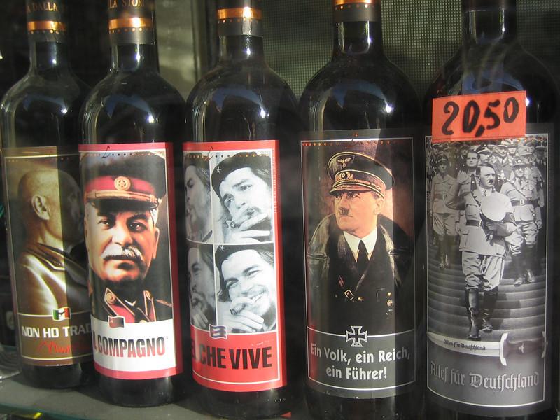 Ahhh.... Eau de Nazi wine