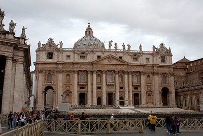 The Vatican is a county and is the smallest one in the world.