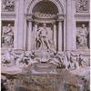 The Trevi Fountain.