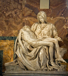 Pieta (Michaelangelo)inside Saint Peter's Basilica