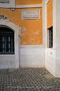 Piazza Di San Ignazio, Rome, Italy