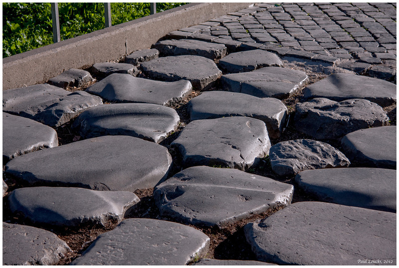Those rocks I was talking about earlier...