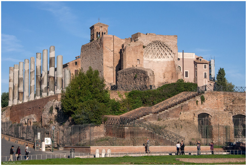 Hadrian's Temple or the Temple of Venus -- your call...