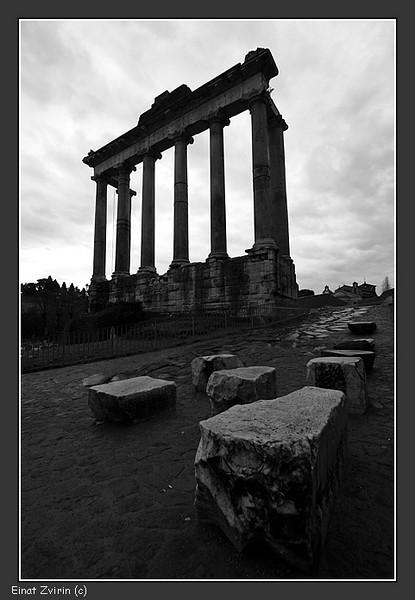 Temple of Saturn<br /> Forum Romano, Rome