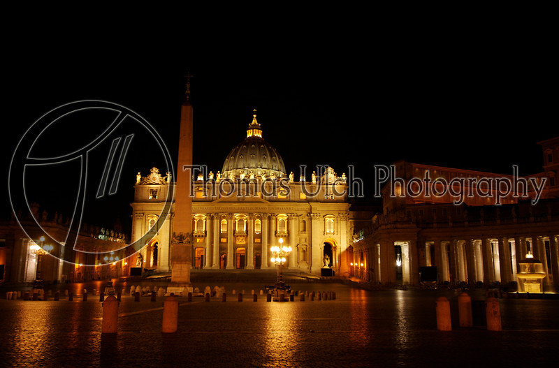 The Vatican. St Peters Square. Rome, Italy.