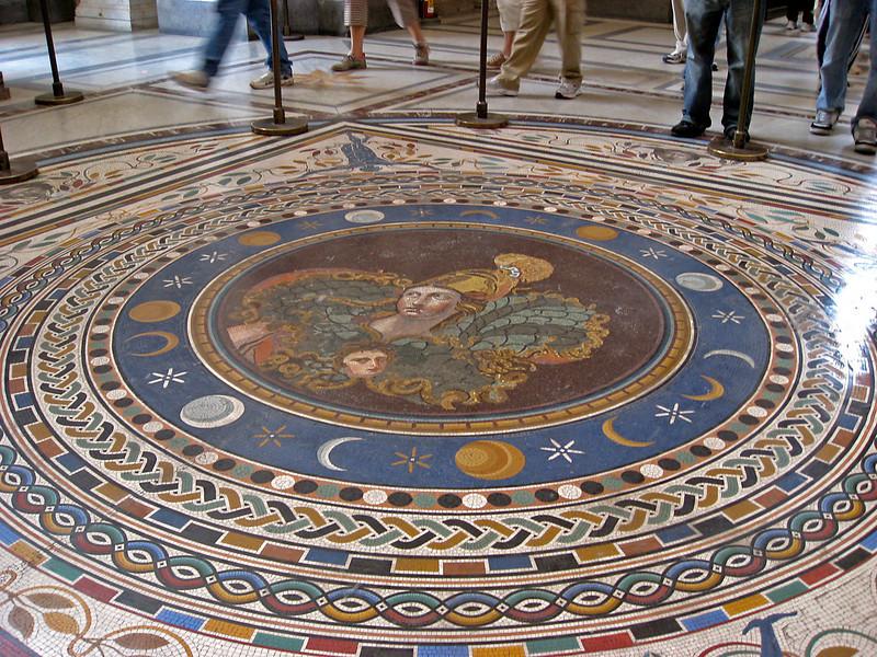 Floor Mosaic Vatican Museum