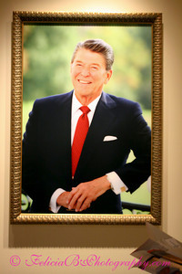 This photo makes me wish I'd had the opportunity to take President Reagan's portrait.