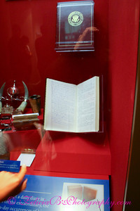 One of President Reagan's actual diaries.  If you have not yet read the Reagan Diaries, what are you waiting for?  Stop looking at these photos and get crack-a-lackin', will ya?