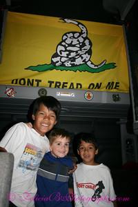 The Boyz inside The Mr. Carter's cab.