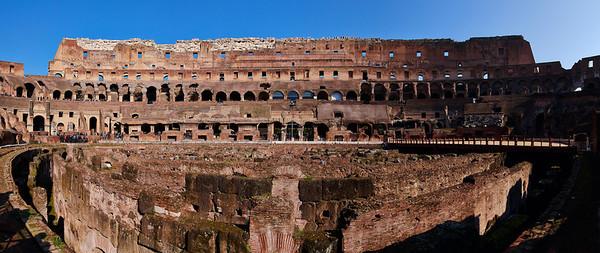 Colosseum panorama