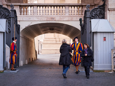 Swiss Guard of Vatican