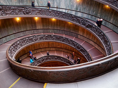 The Vatican Stairs