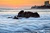 Sunset Rosarito Beach