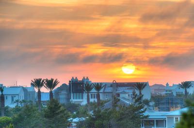 30a Sunset over Alys Beach