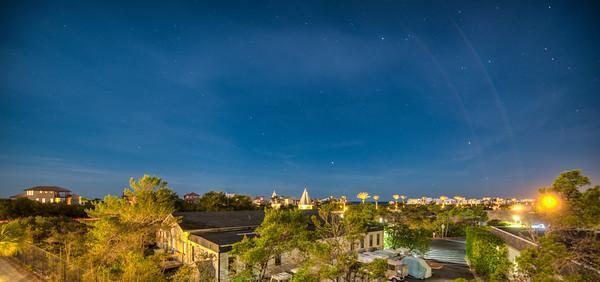 Night Sky over Alys Beach Florida
