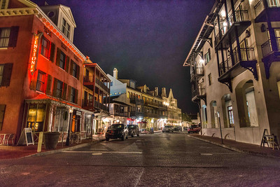 Rosemary Beach Night Street