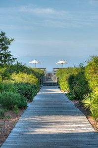Rosemary Beach Walking Path to the Beach