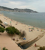 Beach / Mediterranean sea, as seen from our balcony.