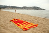 Our nice Catalonian towel.
